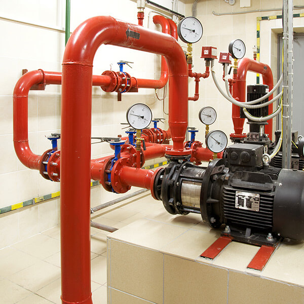 Early Suppression. Fast Response. Control Mode. Top Designs Of Commercial Fire  Sprinkler Systems ...